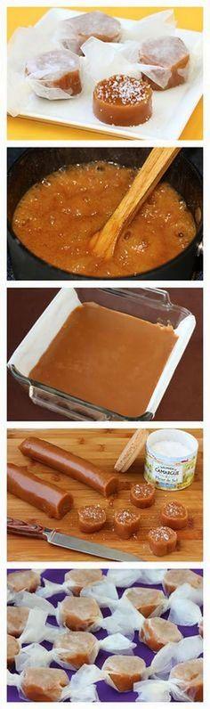 Fleur de Sel Caramels recipe! | CookJino