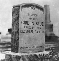 #CreepyStory . . In 1933, a girl dressed all in blue came to Willoughby, Ohio on a Greyhound bus. She stayed the night in a boarding house…