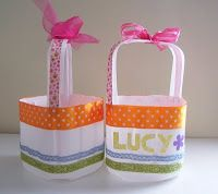 DIY recyclable easter basket plastic milk jugs. Cool idea also for a purse, holds Remote controls, make up, as a gift basket. My imagination could keep on going... Fun idea to save earth.