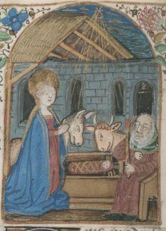 Livre d'heures d'Isabelle Stuart, femme de François Ier, duc de Bretagne, 1401-1500