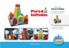 Inflable Infantil Pared Inflable Costa Rica http://www.juegosypiruetas.com/#!inflables-infantiles/cwk2
