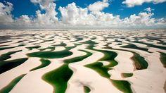 Globe-Trotting : Les plus beaux paysages et voyages du Monde | Le désert blanc des Lençóis Maranhenses au Brésil