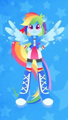 Rainbow Dash Equestria Girls My Little Pony Unicorn, My Little Pony Twilight, My Little Pony Drawing, Rainbow Dash, Disney Pop Art, Anime Girl Crying, Little Poni, Mlp Fan Art, Imagenes My Little Pony