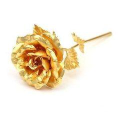 Golden Rose A Elegant Gifts For Your Lover
