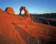 Delicate Arch at Arches National Park. Plan your trip at OhRanger.com.
