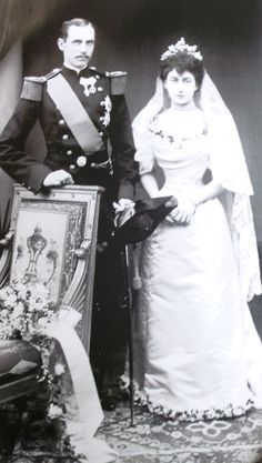The wedding of Queen Maud and King Haakon