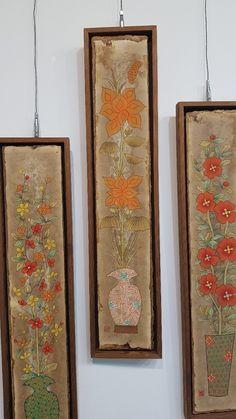 Korean Art, Japanese Design, Traditional Art, Art For Kids, Vintage World Maps, Frame, Pictures, Gouache, Home Decor