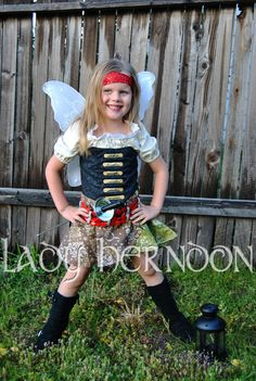 My Pixie Hollow: Zarina the Pirate Fairy Costume por LadyHerndon
