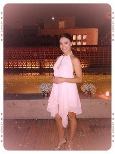 @KuhlSandraVite: Mi amiga Hermosa la conductora  @Tabatajalilreal en este vestido de Coctail de nuestra marca @KuhlSandraVite.