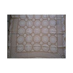 "100% Cotton Handmade Crochet Table Topper Beige 36"" Square by OctoRose. $12.99. 100% cotton handmade crochet table topper 36"" square beige. we have this design in placemat, dollies, table runner, and table cloth square, round and oblong in white and beige. easy machine washing cold.. High Quality Gurarantee.. Please find the matching crochet items different size in below ASIN number on Amzon.. Please find Matching Crochet table cloth, table runner, placemats, ..."