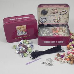 Oriental Bead Set. A great gift idea for Christmas. www.athomeshopping.co.uk £9.99