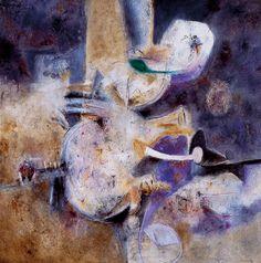 Lilia Carrillo, 'Introspección'. México / arte, pintura, generación de la ruptura Mexican Artists, South America, Painting & Drawing, Abstract, Nice, Drawings, Inspiration, Modern Art, Watercolor Painting