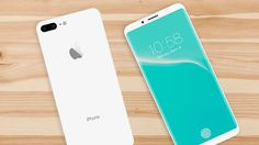 El iPhone 8 vendría con una pantalla OLED plana