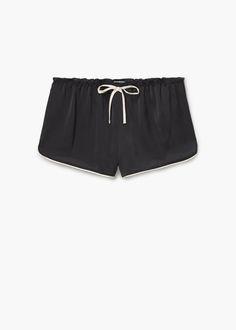 Short fluide - Pyjamas et chemises de nuit pour Femme | MANGO France