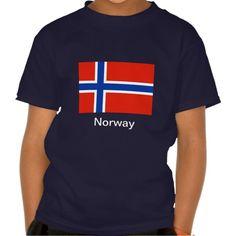 Flag of Norway T Shirt, Hoodie Sweatshirt