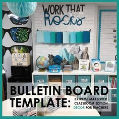 """Looking for a way to display your students' impressive work? This """"WORK THAT ROCKS"""" bulletin board is designed for just that! You can brag about your students' improvement while simultaneously decorating your room! This resource was designed for"""