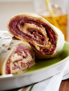 What's your go-to wrap? Try me recipe for a classic Reuben Wrap - with a twist!