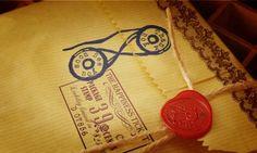 "TOKYO ANTIQU "" Button & string"" Rubber Stamp by niconecozakkaya on Etsy"