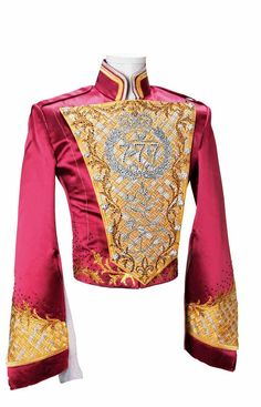 "This is one of the jackets designed for MJ,for the ""THIS IS IT"" tour, that sadly never happened.The 777,on this jacket,and many others he wore,is his birth order-he was the 7th child.And the following ""77"" is his birth year added like this: 19+58=77.Thus the ""777"". COOL.     lhmh"