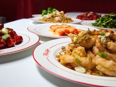 Signature dishes at Philippe Chow Upscale Restaurants, Chow Chow, Chinese Food, Fine Dining, Cauliflower, Food And Drink, Dishes, Vegetables, Preserve
