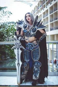 Devils of Cosplay: Intraventus is a perfect Lady Death (Katsucon) Cosplay, Nerd, Comic, Perfect Woman, Girls, Creative, Punk, Model, Death