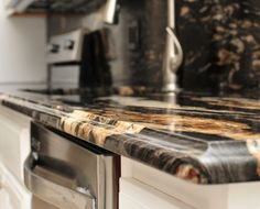 Ogee Granite Countertop Edge Profile Bathroom Kitchen Countertops Cabinets