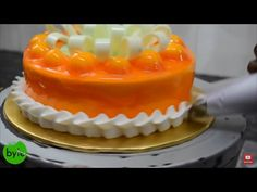 How to make a Quick and easy Eggless Double Truffle Layered Cake - YouTube