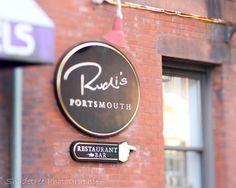 Rustic Decor Red Black Brew Pub Restaurant by ShadetreePhotography