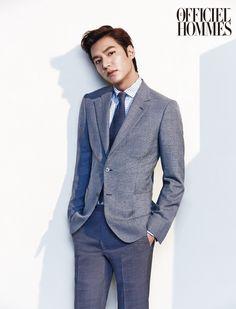 2014.05, L'Officiel Hommes, Lee Min Ho