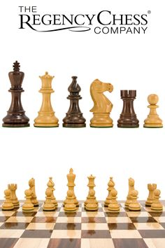 The Regency Chess Company - Atlantic Series Rosewood Staunton Chess Pieces Inches - Crafted from single blocks. Chess Sets, Chess Pieces, Regency, Products, Chess, Games, Chess Games, Gadget