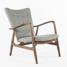 Store on 17th or 18th -  Like this better than the papa bear   Mid-Century Modern Kelley Mid Century Lounge Chair - Grey