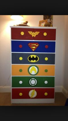 Superhero drawers just perf