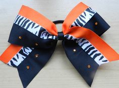 Cheer Bow by TaylorBearStudio on Etsy, $12.00