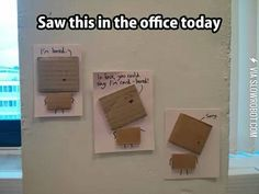 Funny pictures about Office Humor. Oh, and cool pics about Office Humor. Also, Office Humor photos. Funny Cute, Really Funny, Super Funny, Funny Pins, Funny Stuff, Random Stuff, Random Things, Silly Things, Pranks