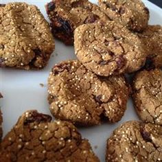 """Gluten Free Gingerbread Drops 