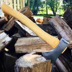 My baby has sold  such a bitter sweet moment! #Norlund #axe #axejunkies #axeporn #axeman #hatchet #camping #hiking #hickory #steel #sharp #foresty #diy #showyourwork #craft #handmade
