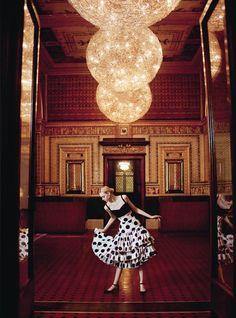 Nastya Kusakina by Erik Madigan Heck for Harper's Bazaar UK March 2015
