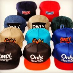 Only. New York makes some super clean, great fitting hats and more! Check them o