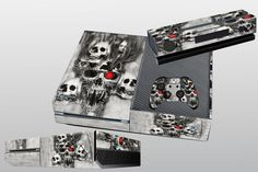 So Cool Skull for X BOX One Console Controller Protector Sticker Skin Cover Game #UnbrandedGeneric