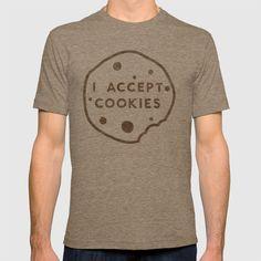 I Accept Cookies T-shirt
