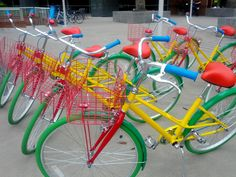 Love The Google Bikes