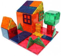 Wondering what kids can make with Magna Tiles?  These innovative magnetic tiles can be used in a number of ways to create buildings, cars and cities. Here's just a few ideas to get you started.