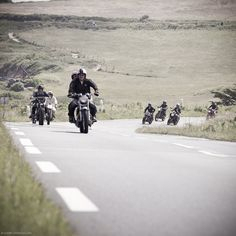 Riding in the Basque Country.