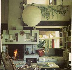 "https://flic.kr/p/7A6Xxc | 1970s Living Room | From ""Golden Homes"" magazine c1974"