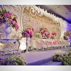 Wedding Reception of Paulus & Cannida at Fourseasons, Jakarta | Decoration by Lotus Design | Lighting Designed by LUMENS | 2014.06.22 | cc : @lumens_indo