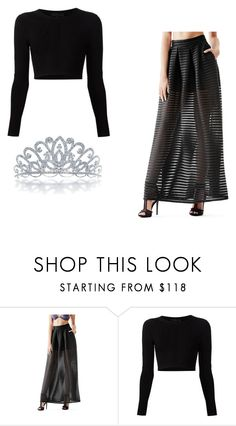 """Rich Annoying Girl Outfit"" by jazzlizzle on Polyvore featuring GUESS, Cushnie Et Ochs and Bling Jewelry"