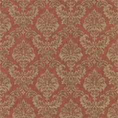 """Manufacturer: Brewster Book Name: COME HOME TO FEATURE WALL Pattern Number: SW-7418990 Color: RED Repeat: 10.75"""" Adhesive: PREPASTED Substrate: VINYL COATED PAPER $27.99"""