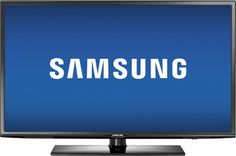 "Samsung - 40"" Class (40"" Diag.) - LED - 1080p - Smart - HDTV - Black - Front…"