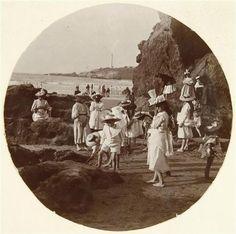 Scène de plage, Biarritz 1890