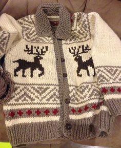 Ravelry: Cowichan Jacket pattern by Pierrot (Gosyo Co. Knitting Patterns Boys, Coat Patterns, Knitting For Kids, Baby Knitting, Sewing Patterns, Vogue Patterns, Vintage Patterns, Skirt Patterns, Blouse Patterns